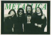 Metallica - 'Group Hug' Postcard